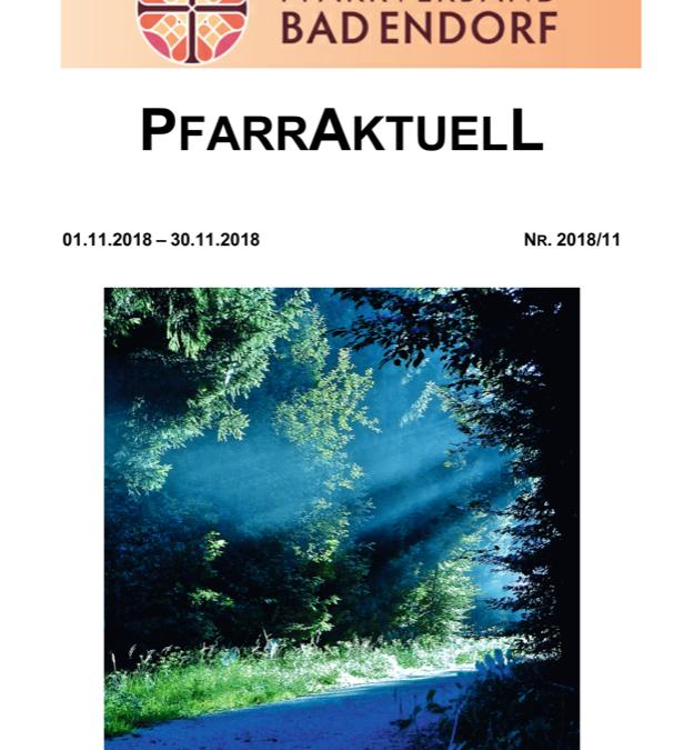 PfarrAktuell 11/2018