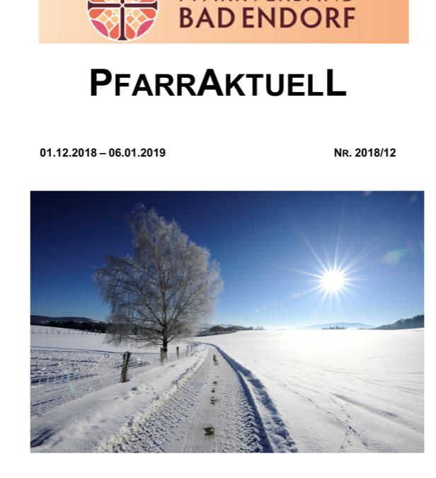 PfarrAktuell 12/2018