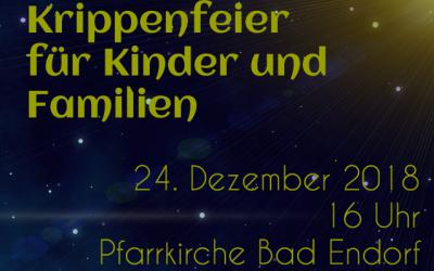 Krippenfeier 2018