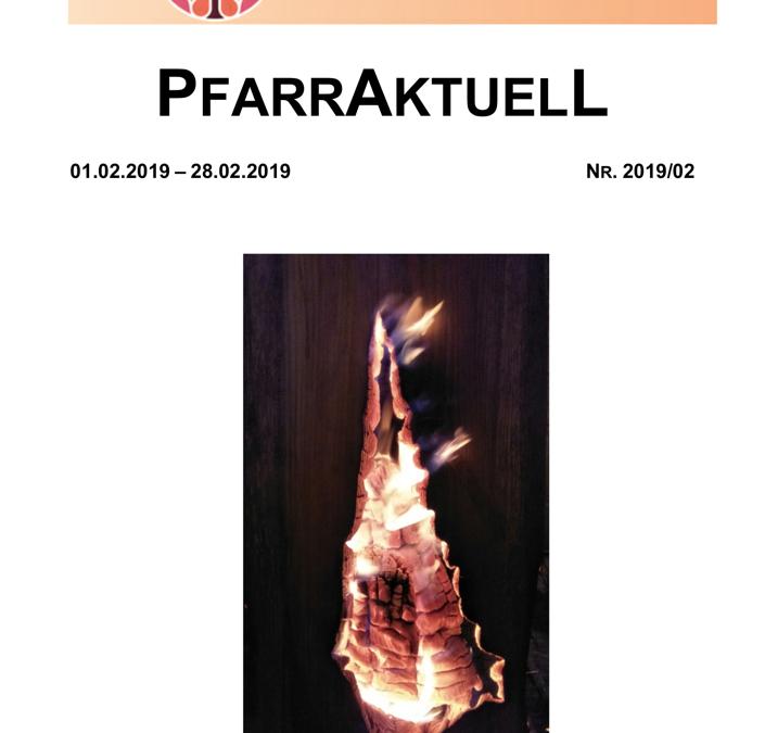 PfarrAktuell 2/2019
