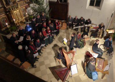 Kirchenchor von oben