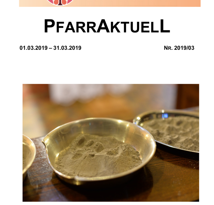 PfarrAktuell 3/2019