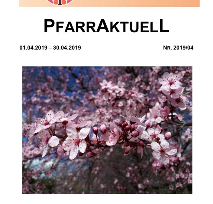 PfarrAktuell 4/2019