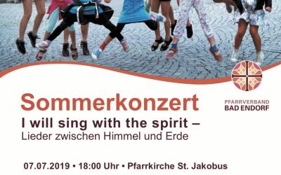 Sommerkonzert der Chöre 2019