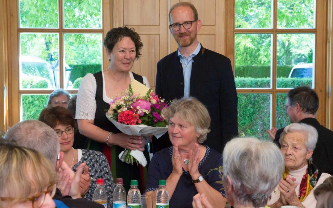 Pastoralreferentin Edith Heindl nach 33 Jahren Dienst in der Kirche verabschiedet