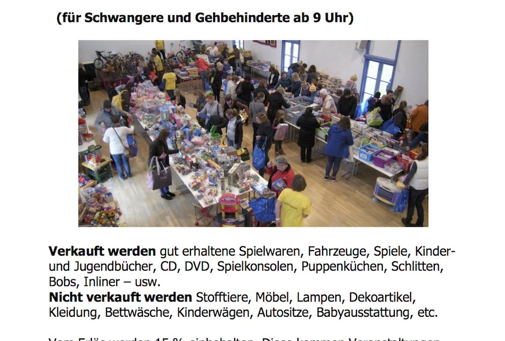 Spielzeugmarkt 2019