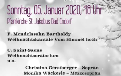 Weihnachtliches Festkonzert 2020