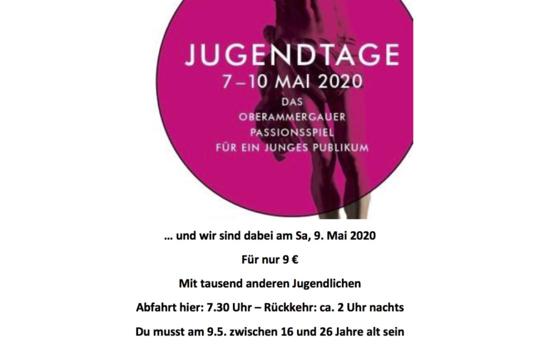 Oberammergau für Jugend 2020