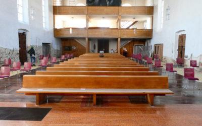 Fotos Baustelle Kirche 2021