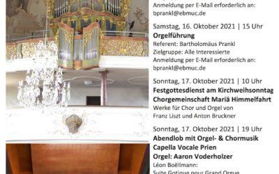 26 Jahre Woehl-Orgel Prien – Jubiläumsprogramm (2021)