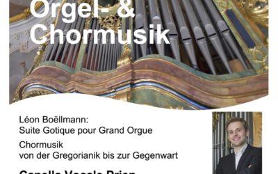 Abendlob mit Orgel- & Chormusik 2021