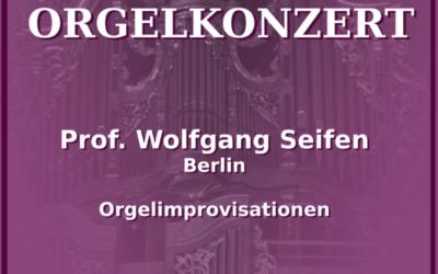 Orgelkonzert Allerheiligen – 2021